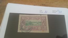 LOT 226166 TIMBRE DE COLONIE COTE SOMALIS OBLITERE N�11 VALEUR 11 EUROS