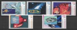 Germany - RFA (1999) Yv. 1909/13  /  Espace - Space - Spaceship - Astronaut - Moonlanding - UNUSUAL Hologram - Altri
