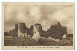 Carte Postale - Commequiers - Les Ruines Du Vieux Chateau - France