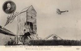 AVIATEUR HELEN DETENTEUR A EUX REPRISES DE LA COUPE MICHELIN EN 1911-1913 SUR MONOPLAN NIEUPORT - Aviatori