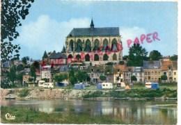 27 - PONT DE L' ARCHE - LE CAMPING  L' EGLISE NOTRE DAME DES ARTS - Pont-de-l'Arche