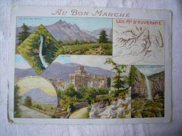Grande Chromo Au Bon Marché Les Monts D'Auvergne - Au Bon Marché