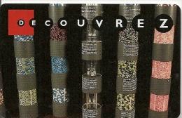 CARTE-MAGNETIQUE-GEODE-1995--DECOUVREZ 5-SPEOS-01079505-TBE - Tickets D'entrée