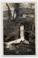 Env  CHAMBERET--1954-- Cascade Du Moulin , Cpsm 14 X 9  N° 19.036.09  éd La Cigogne--cachet CHAMBERET--19 - France