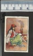WOMAN MAURESQUE THREE TORCHES UNION MATCH UNION ALLUMETTIÈRE  OLD MATCHBOX LABEL BELGIUM - Boites D'allumettes - Etiquettes