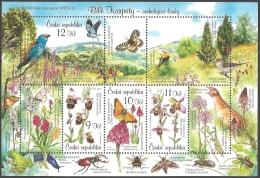 Czech Republic - White Carpathian Mountains Unesco Biosphere Reservation, Souvenir Sheet, MINT, 2007 - Blocks & Sheetlets
