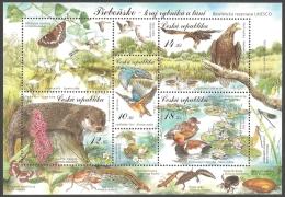 Czech Republic - Trebonsko -  Unesco Biosphere Reservation, Souvenir Sheet, MINT, 2008 - Blocks & Sheetlets