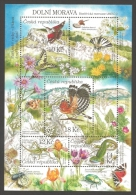 Czech Republic - Lower Morava - UNESCO Biosphere Reserve, Souvenir Sheet, MINT, 2010 - Blocks & Sheetlets