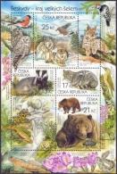 Czech Republic - Nature Protection - Beskid Mountains, Souvenir Sheet, MINT, 2014 - Blocks & Sheetlets
