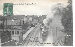 ARGENTON - La Gare - Vue Prise Du Pont St Paul - Francia