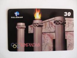 Phoncard/Telecarte/Cartão Telefónico Telemar Olimpiadas 30 Unidades Tiragem 250000 Ex. - Sport