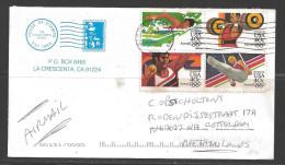 1984 Summer Olympics, 40 Cents, Block Of 4, California To Netherlands - Etats-Unis