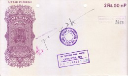 INDIA UTTARPRADESH HUNDI - RUPEES 2 AND  50 NAYE PAISE - ISSUED BY THE INDIA THERMIT CORPORATION LTD, MARTIN BURN LTD., - Bills Of Exchange