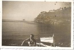FABREGAS     5,5x8,5 Cm  1942 Jeune Homme En Barque - Places