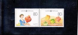 EUROPA  JEUX D´ENFANTS   2 VALEURS  NEUF ** N° 1763/1764   YVERT ET TELLIER 1989 - 1910 - ... Repubblica