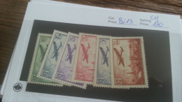 LOT 226304 TIMBRE DE FRANCE NEUF(*) N�8 A 13 VALEUR 170 EUROS