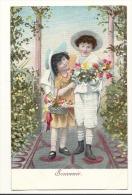 Cp, Enfants, Souvenir - Children