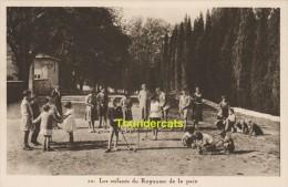 CPA LES ENFANTS DU ROYAUME DE LA PAIX JEU DE BOULES CROQUET - Cartes Postales