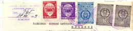 EX.YU. Serbia. The Fiscal Revenue Tax (state's And Municipal's) On Melenci Document. 1959. - 1945-1992 Repubblica Socialista Federale Di Jugoslavia