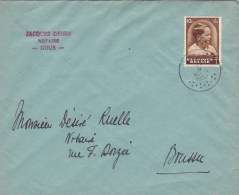 438 (surtaxe / Toeslagzegel) Op Brief Met Stempel DOUR (VK) - Briefe U. Dokumente