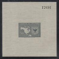 HF2-KOLUMBIEN / COLOMBIA.-S/S.- MI: BLOCK 2- 1948.- MNH .-.IX INTERNATIONAL CONFERENCE .-.  CV €: 3.00 - Colombia