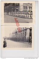 Au Plus Rapide Défilé 14 Juillet 1946 15 ème Régiment Sénégalais Café De L´Arrière Port Toulon ? Très Bon état - Guerre, Militaire