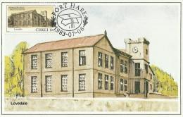 Ciskei 1983 Buildings,Lovedale,maximum Card - Ciskei