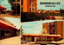 38-BOURGOIN-JALLIEU..CHAMPFLEURI..4 VUES ...CPM - Bourgoin