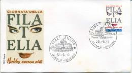 ITALIA - FDC  ROMA 1992 -  GIORNATA DELLA FILATELIA - 6. 1946-.. Repubblica