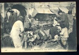 Cpa De Tunisie Bizerte Marchands De Vieux Habits      AO16 - Tunesien