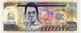 PHILIPPINES 500 PISO 2012 45th MEETENG ASEAN Pick 214A Unc - Filippine