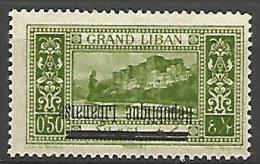 GRAND LIBAN YVERT N° 85 B / MAURY N° 84 E NEUF** TTB / 2 SCANS - Great Lebanon (1924-1945)