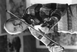 Photo Originale De Presse -  Le Célébre Musicien Violoniste   STEPHANE GRAPELLI   En 1982 - Berühmtheiten