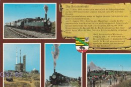 Trains - Postcard: Brockenbahn - Used  (G37-65) - Railway