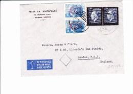 45/462  LETTRE 1947  POUR LONDON - Grecia
