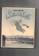 """LIVRE """" LES HERITIERS EUFFE """" DE GABRIEL CHEVALLIER AVEC ILLUSTRATIONS DE JACQUES TOUCHET IMPRIME LE 10/08/1947 - Bücher, Zeitschriften, Comics"""
