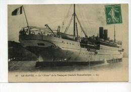 CPA  Bateau :  Le PEROU   1913   A  VOIR  !!!! - Steamers