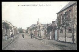 Cpa Du 60 La Villeneuve Le Roy Rue De La Gloriette    AO14 - France
