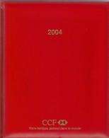 Agenda Vierge. Banque CCF 2004 Avec Logo HSBC. Tranche Dorée - Livres, BD, Revues