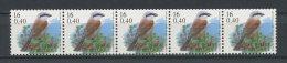 BELGIQUE 2000  N° 2933 ** Roulette Avec N° Neufs = MNH Superbes Cote 15 € Faune Oiseaux Birds Pie Fauna Animaux - Bélgica