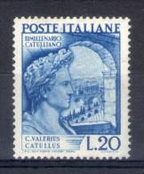 MC 1949 Santa Trinita´ Nuovo Con Leggera Traccia Di Linguella MLH* Parziale Filigrana A Lettere - 1946-.. République