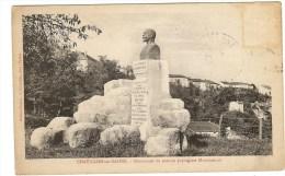 CHATILLON SUR SAONE - Monument Monchablon - Andere Gemeenten