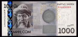 KYRGYZSTAN 1000 SOM 2010 Pick 29 Unc - Kirghizistan