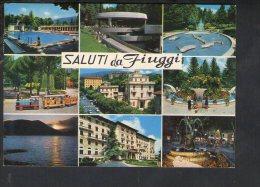 L2907 Saluti Da Fiuggi ( Frosinone ) Multipla Con Auto Cars Voitures - Used 1985 - Altre Città