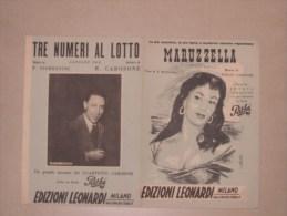 """Spartito Canzone """"MARUZZELLA"""" Di Renato Carosone - Musica Popolare"""