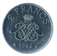 ** 2 FRANCS MONACO 1982 SUP ** - Monaco