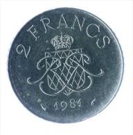 ** 2 FRANCS MONACO 1981 SUP ** - 1960-2001 Nouveaux Francs