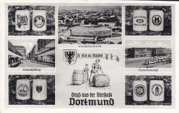 Ak Dortmund, Mehrbildkarte, 1956 - Dortmund
