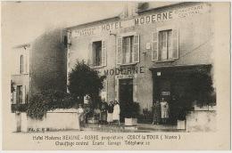 Cercy La Tour Hotel Moderne Beaune Robbe Chauffage Central Ecurie - Altri Comuni