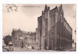 CP, 62, SAINT-OMER, Le Collège Saint-Bertin, Voyagé En 1913 - Saint Omer